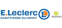 logo leclerc st pierre du mont